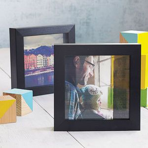 Personalised Transparent Photo Frame - 50th birthday gifts