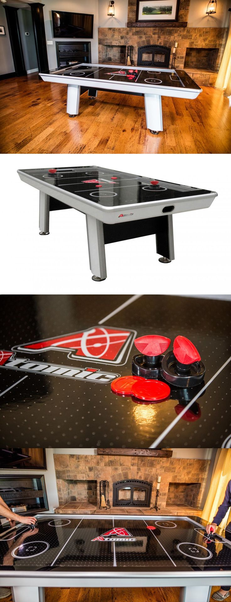 Air Hockey 36275: Atomic Avenger 8 Air Hockey Game Table - New -> BUY IT NOW ONLY: $1099.99 on eBay!