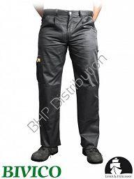 Szare spodnie robocze do pasa LH-VOBSTER