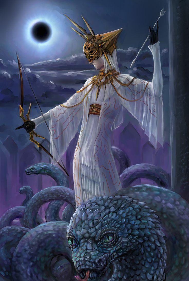 Dark Souls: Dark Sun Gwyndolin by Theocrata.deviantart.com on @DeviantArt