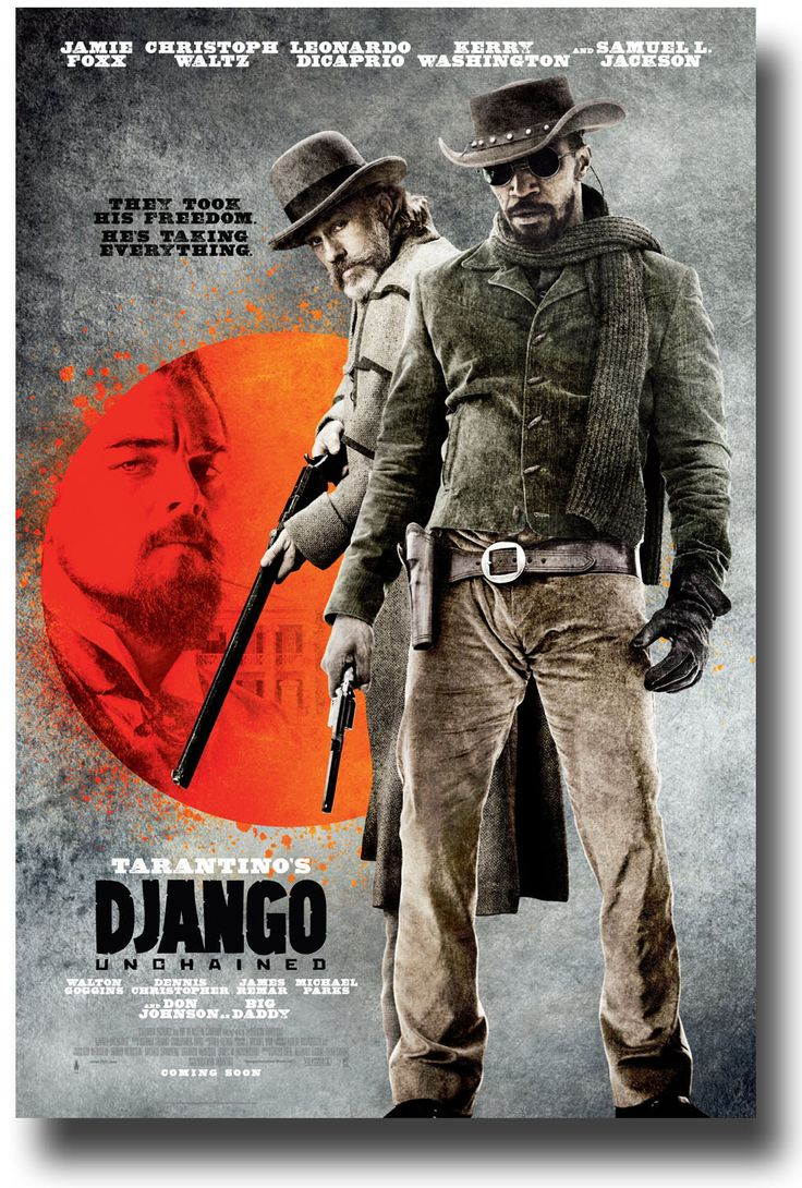 Django Unchained. (2012) Quentin Tarantino ..a powerful movie in typical QT style ..Christoph Waltz was amazing !!