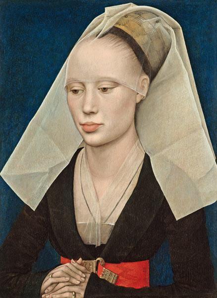 Rogier van der Weyden - Portrait d'une Dame
