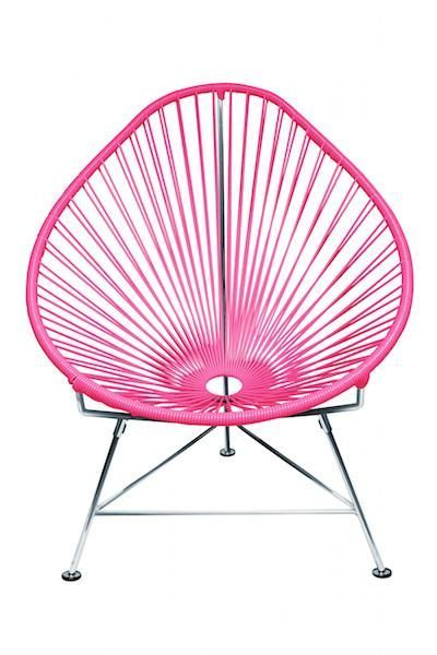 Innit Designs Acapulco Lounge Chair - Chrome or Copper Frame #ComfyChair