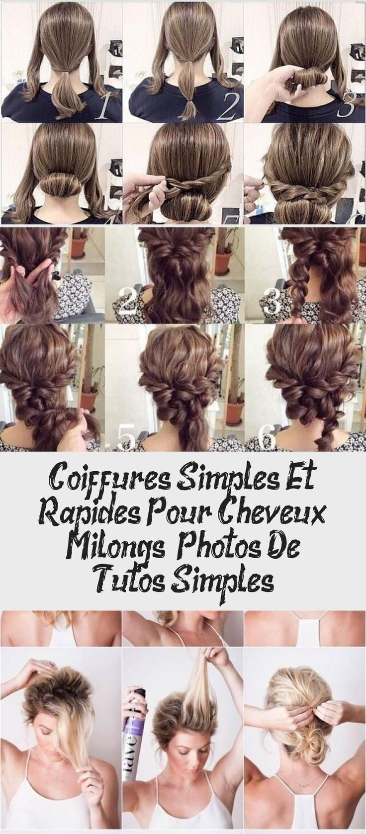 Simple and quick hairstyles for medium length hair photos ...