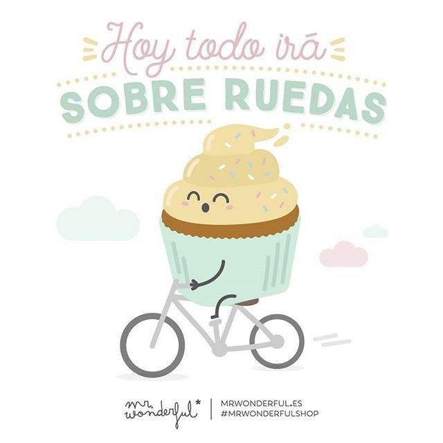 En bici, en patines o coche pero…Everything will go smoothly today. Whether you…