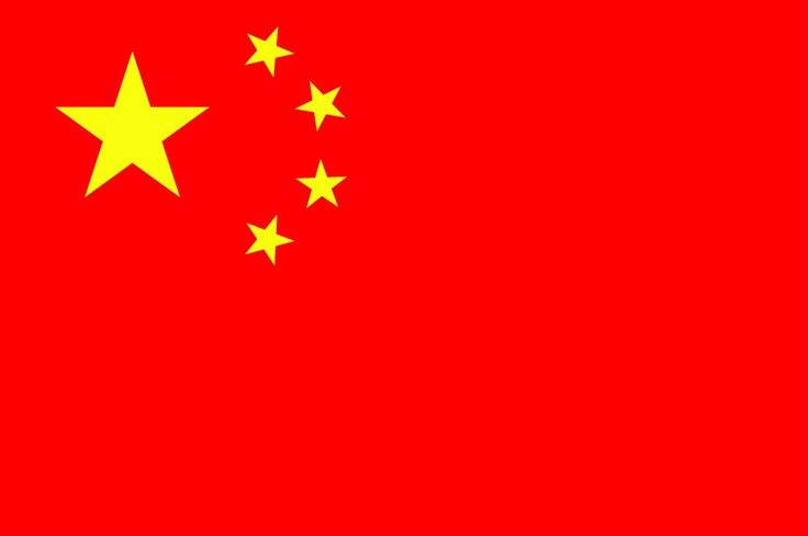 CHINA - Huge world power. Awesome country with lots of growth.