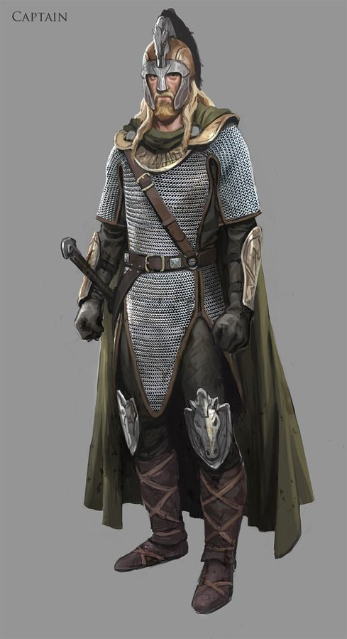 Lord of The Rings Online concept art, Riders of Rohan expansion