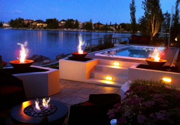#outdoor #fire #backyard #outdoors #nature #Canada #calgary