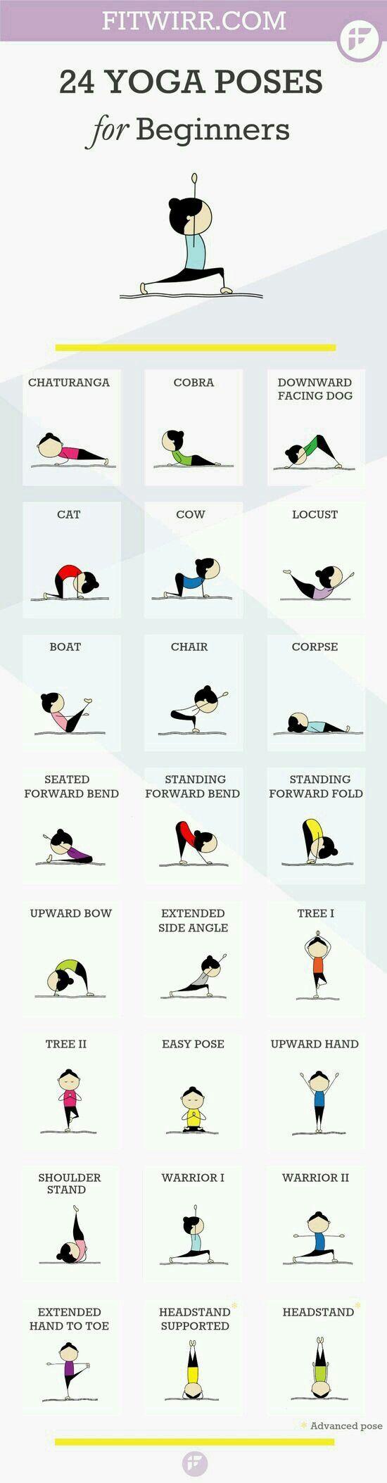chicas una yoga a la noche y a  la mañana  vasta para estar  bien estirada