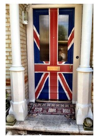 Union Jack door!
