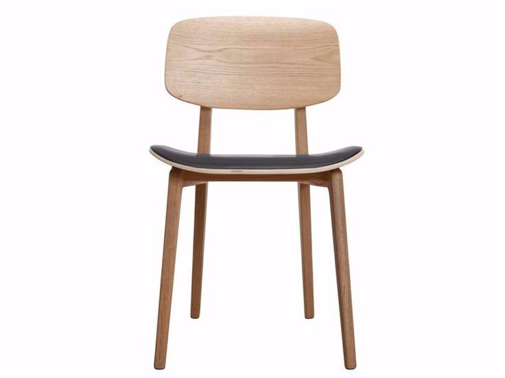 NY11 Chair with integrated cushion by NORR11 design Knut Bendik Humlevik, Rune Krøjgaard