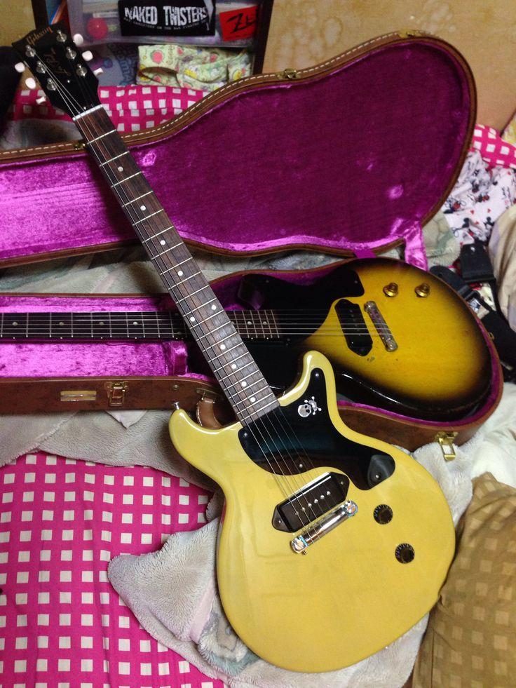 Billie Joe Armstrong LesPaul JUNIOR DOUBLE CUTAWAY Gibson