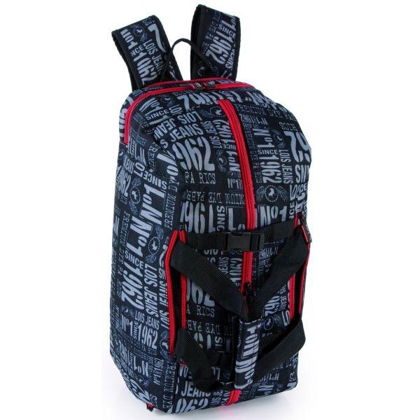 Bolsa de viaje transformable en mochila. Y con el diseño único de Lois.  http://www.maletasviajeras.com/es/bolsas-de-viaje/456-lois-bolsa-mochila.html
