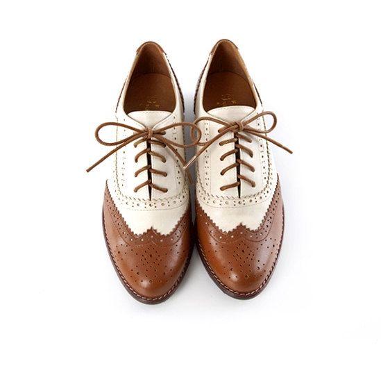 Spedizione gratuita  scarpe oxford a mano in pelle di UniqueFlavor, $100.00