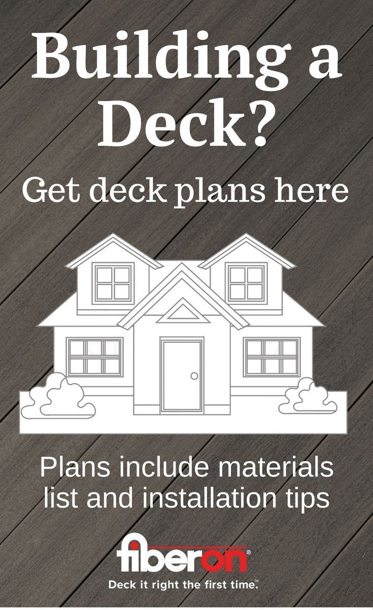 Attaching deck to house building science - Choose From A Variety Of Deck Styles And Sizes Get Free Plans To Help You