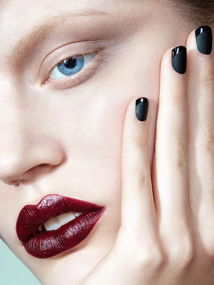 Le Rouge et le Noir: ouse com o vermelho e o preto na beleza