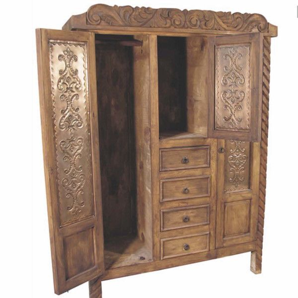 Spanish Colonial Armoire   Indeed Decor