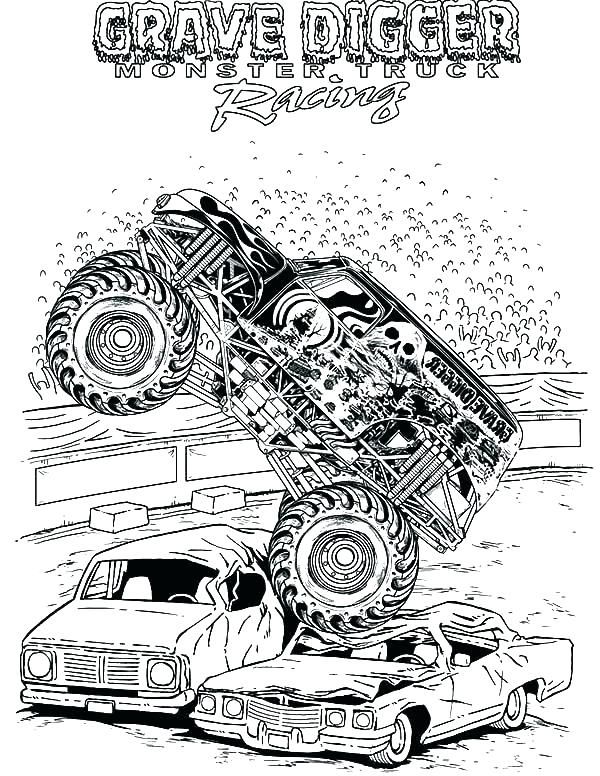 Monster Jam Coloring Book And Jam Coloring Pages Monster Jam