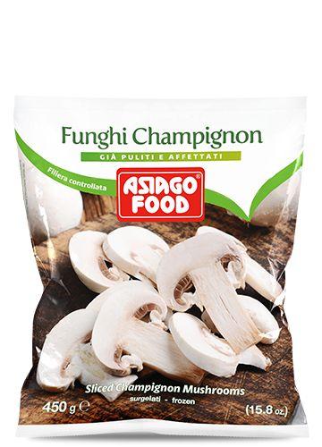 Funghi champignon 450g - Asiago Food