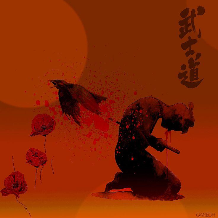Seppuku ( Hara Kiri) The liberation of the spirit of the samurai von ganechJoe