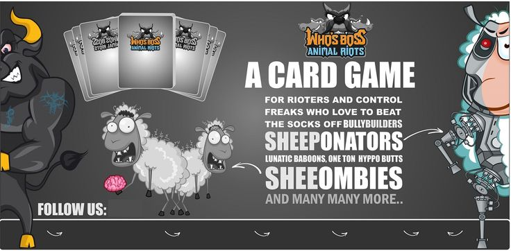 Who's Boss.Animal Riots: The card Game