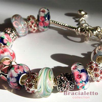 Яркий браслет пандора «DORFEIA»