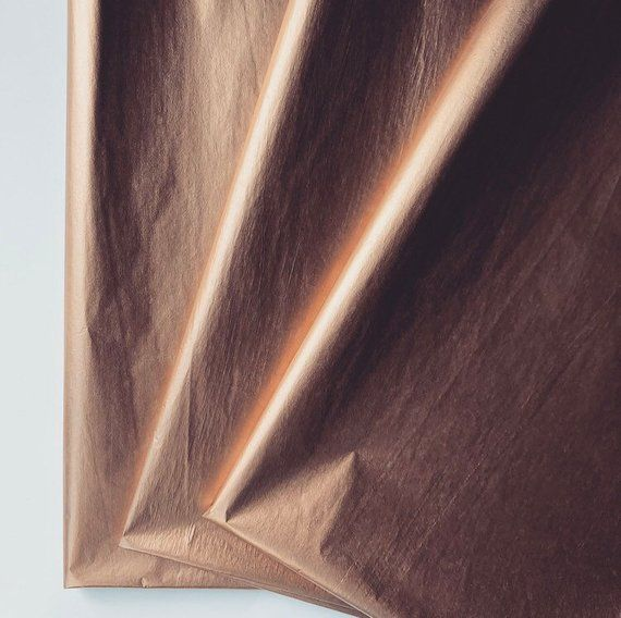 Rose Gold Tissue Paper Sheets Gift Present Wrapping Craft Supply Retail Store Packaging Diy New Years Eve Christmas Hanukkah Eid Holiday Gold Tissue Paper Gold Diy Packaging Diy