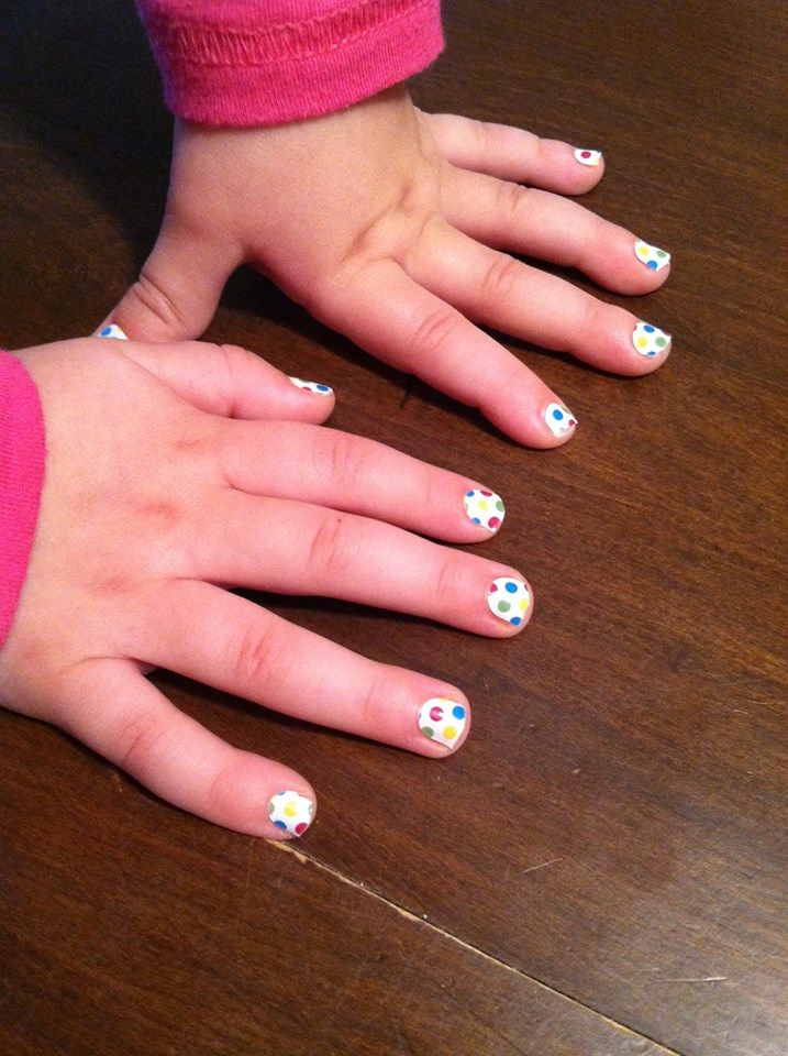 Jamberry Nail Wraps On Actual Hands! Safe On Children - Jamberry Juniors Are Also Available ...