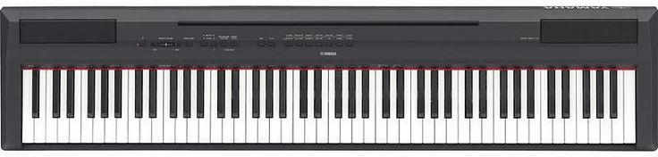Yamaha P-115 88-Key Weighted Action Digital Piano, Black: Adorama has the Yamaha P-115 88-Key Weighted Action Digital… #coupons #discounts