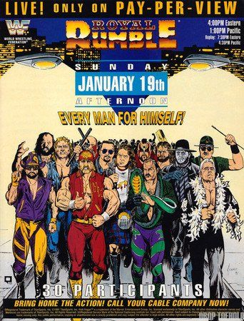 WWE Royal Rumble 1992 (1992)…