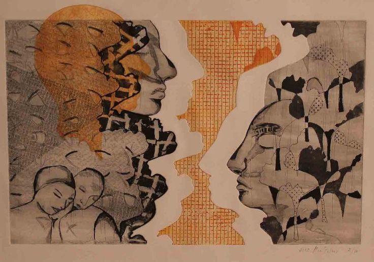 Mia Peters - twee gezichten