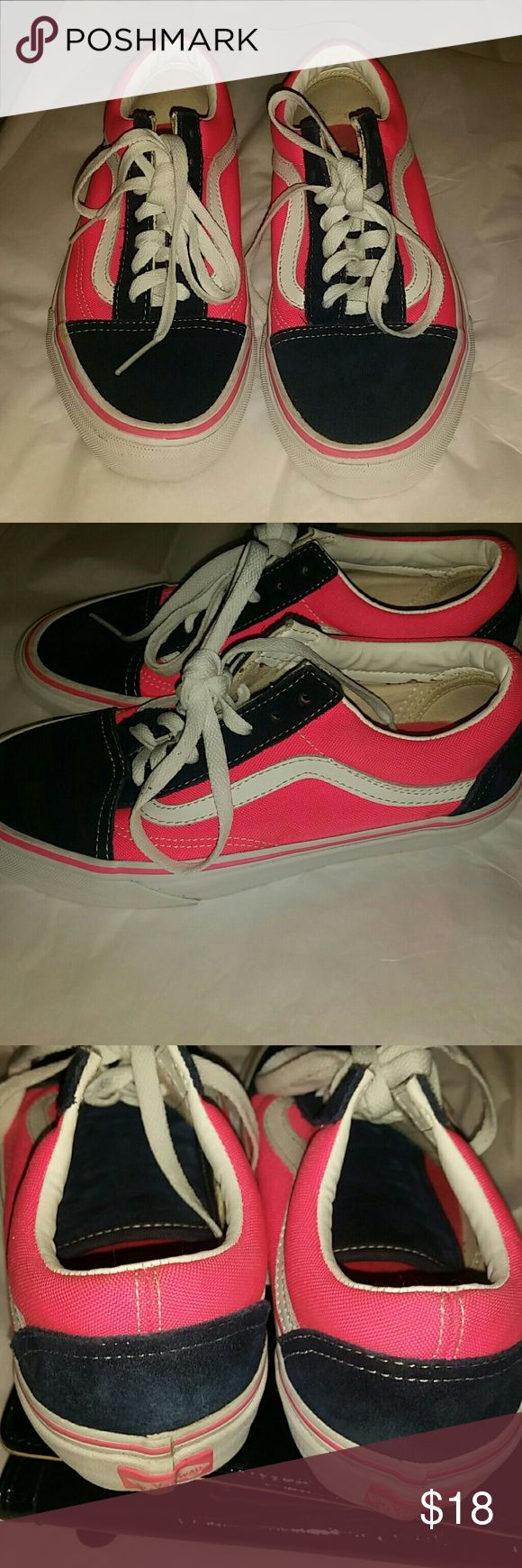 Vans shoes Gently Used size for Men 5.5 vans  Shoes Athletic Shoes