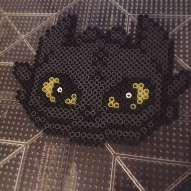 HTTYD Toothless perler beads by cindaquil_
