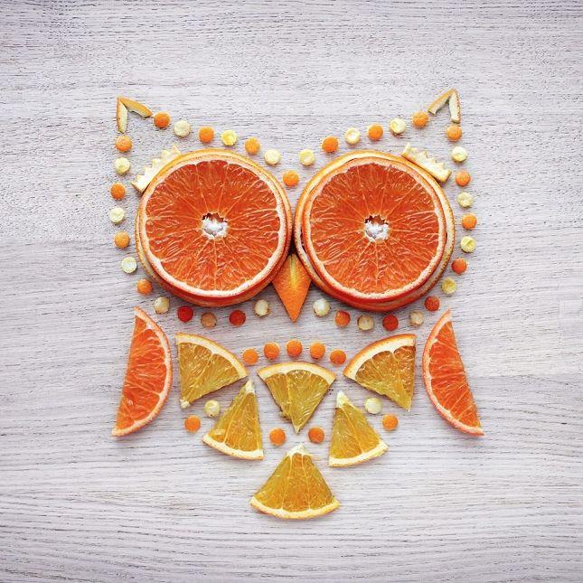 Food Art par Daryna Kossar Photo