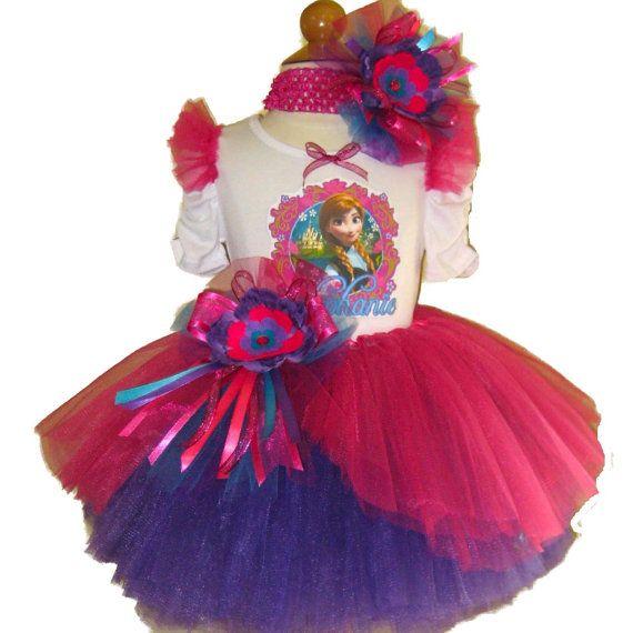 ANNA Frozen Custom Birthday Tutu Set : http://www.tutuheaven.com/Ice-Queen-Tutus-Sets-and-Accessories