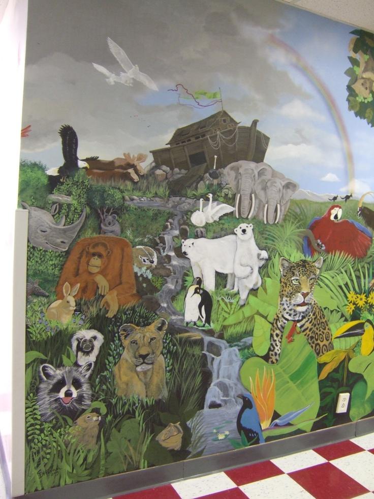 Rainbow Bible School mural, Imaginationii