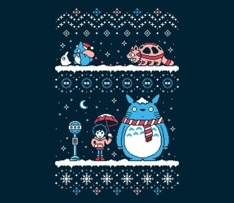 Forest Spirit Holiday! TEE BY DREW WISE - TeeFury