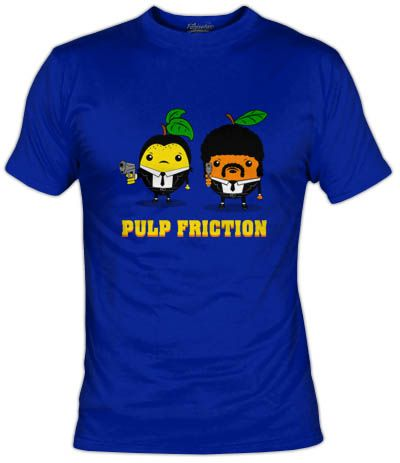 Vincent limon y Jules naranja en Pulp Friction. La version de Pulp Fiction afrutada.
