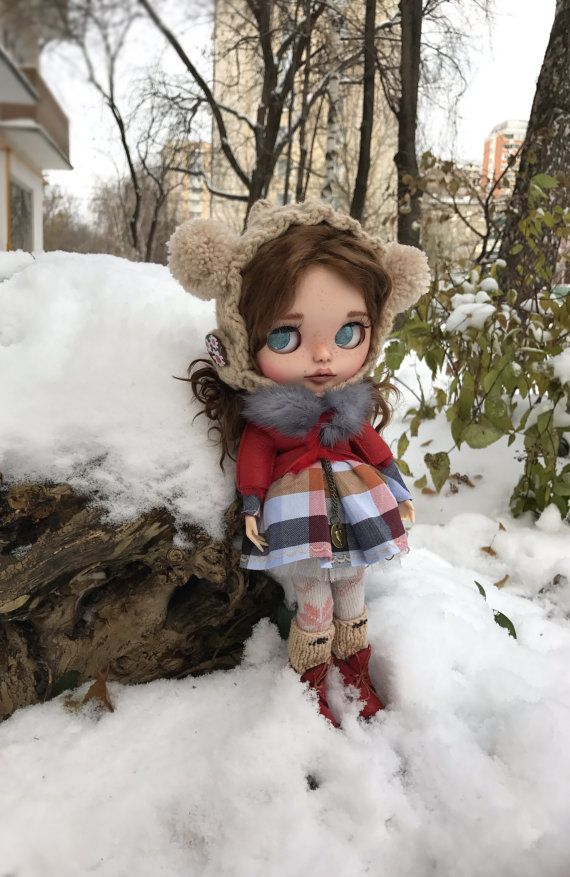 "Doll for sale!!!!!OOAK Custom blythe dol l""Lola"" by Darya Javnerik"