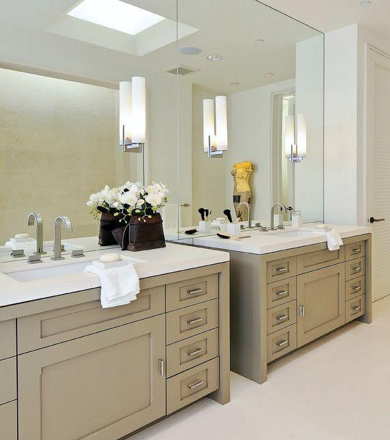 118 best images about master bathroom 2016 on pinterest for Modern master bathroom vanities