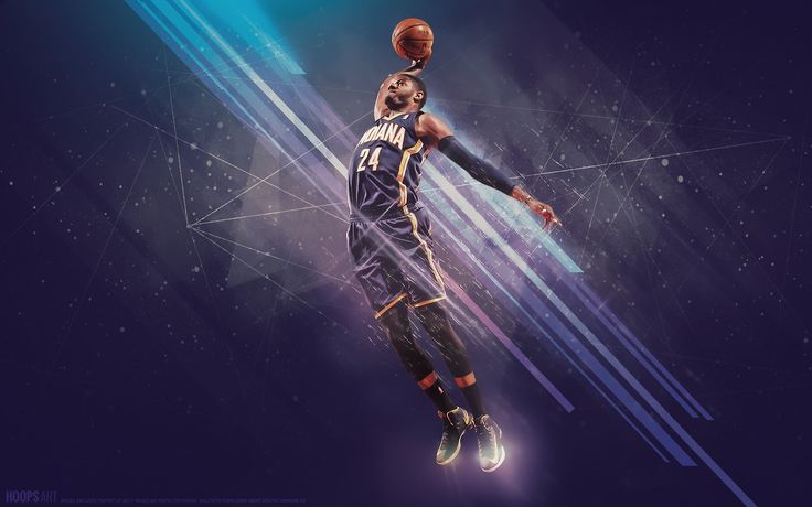 Indiana pacers paul nba wallpaper from hoopsart
