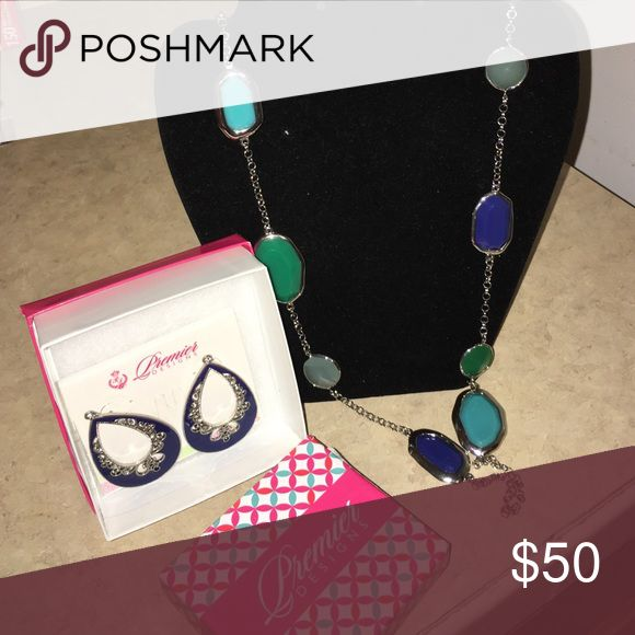 Premier Jewelry Brand New Color POP Never worn $77 value Premier Designs Jewelry Necklaces