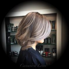 Cassandra McGlaughlin of Platinum Salon in Tampa, Florida, sent the details for this gorgeous transformation we found on her Instagram page: @cassandraplatinum. Here she shares the HOW TO in her own words: