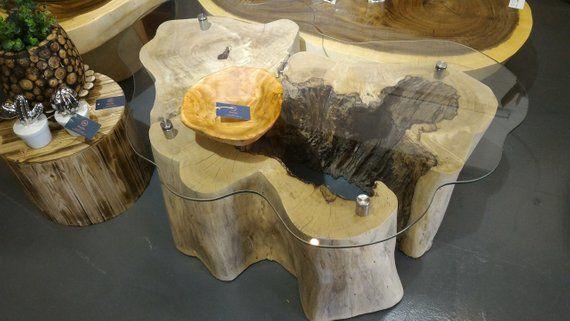 One Of A Kind Log Coffee Table Live Edge Coffee Table Full Log