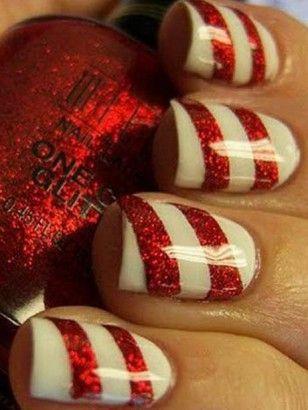 Noël : 30 manucures repérées sur Pinterest à copier - Beauté - Be