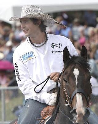 Pretty horse, prettier rider