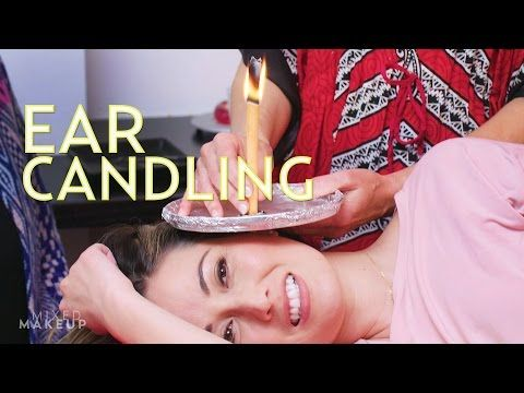 Ear Candling for Wax Removal: Does it Work? | The SASS with Susan and Sharzad - YouTube