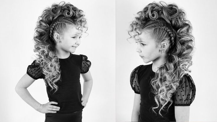 Curly mohawk with braids youtube in 2020 curly mohawk