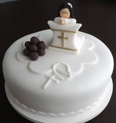 Resultado de imagen para bolo tema primeira comunhão