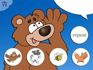 """Speaking of Apps : Hey Bear! What Do You Hear?June 12, 2013 11:28 AM by Jeremy Legaspi - Listen Up Bear ($1.99) is a fun app based on the classic kids tune """"The Bear Went Over the Mountain,"""" but in this version it is not to see what he can see but instead to hear what he can hear! https://itunes.apple.com/us/app/listen-up-bear/id648926650?mt=8=uo%3D4"""